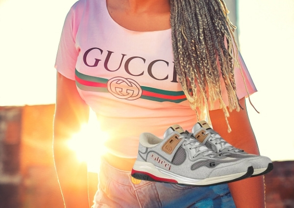 Sneakers Gucci : Sneakers Gucci Ultrapace