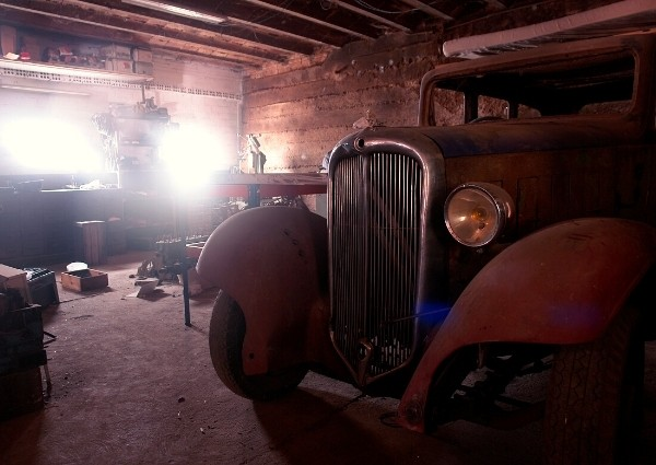 Assurance voiture temporaire : voiture stocké garage